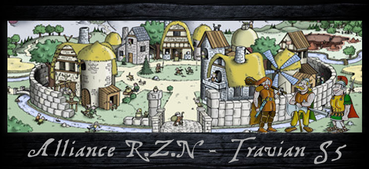 alliance RZN jeu travian Index du Forum