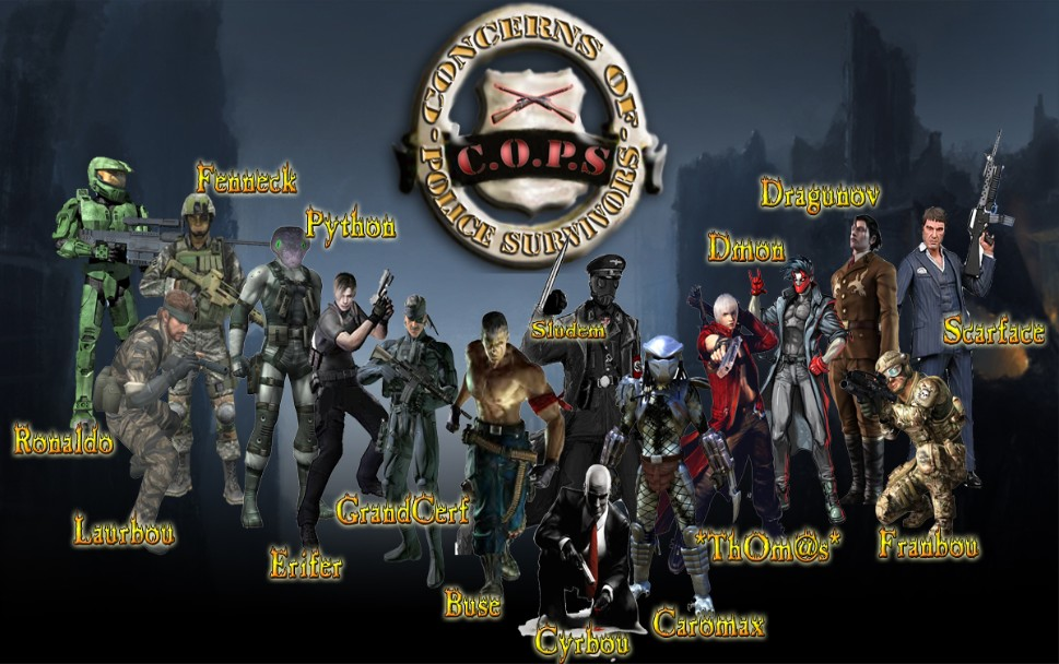Team des [CoPS] Index du Forum
