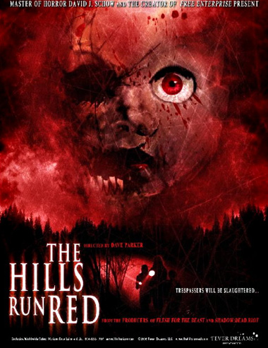Poster de The Hills Run Red
