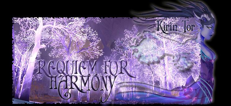 Requiem for Harmony Index du Forum