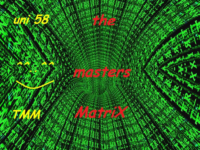 The Masters MatriX Index du Forum