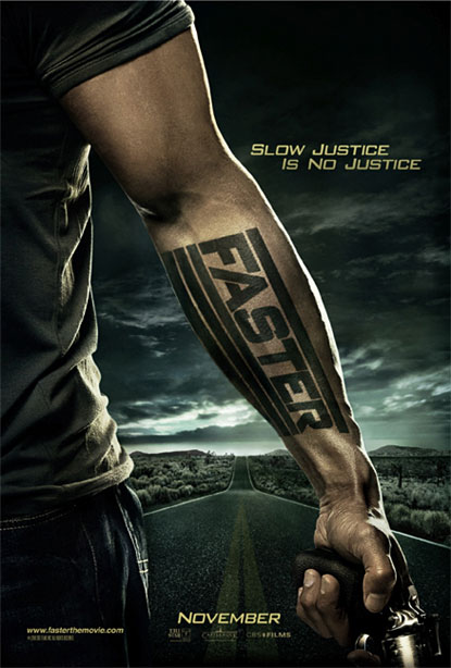 Poster de Faster