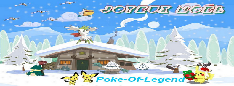 Poke-Of-Legend Index du Forum