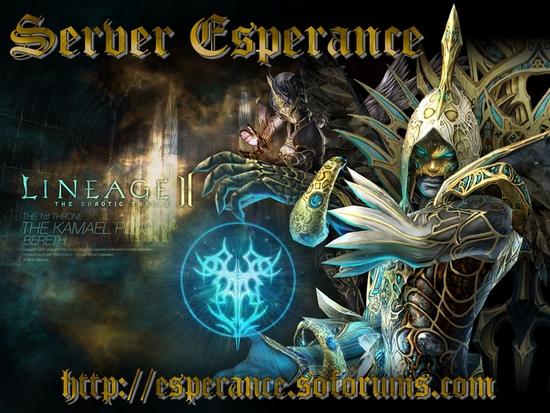 Esperance Index du Forum
