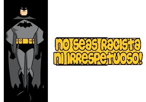 BARRAS SEPARADORAS 6 Batman-racista-c50252